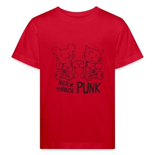 MIEZEMOUSE PUNK - Kinder Bio-T-Shirt