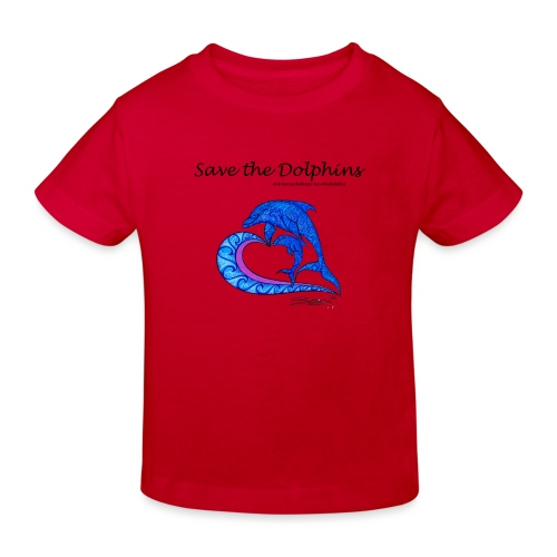 Save the Dolphins - Kinder Bio-T-Shirt