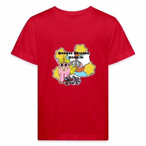 Merveilleuse Licorne née (pour fille) - T-shirt bio Enfant