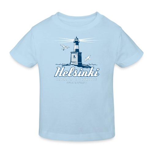 HELSINKI HARMAJAN MAJAKKA - Tekstiilit ja lahjat - Lasten luonnonmukainen t-paita