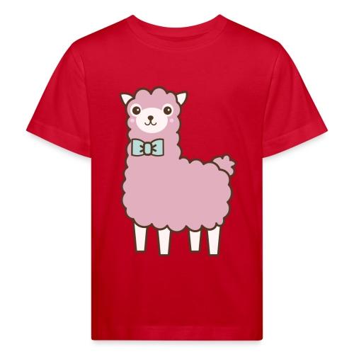 fluffy Lama - Kinder Bio-T-Shirt