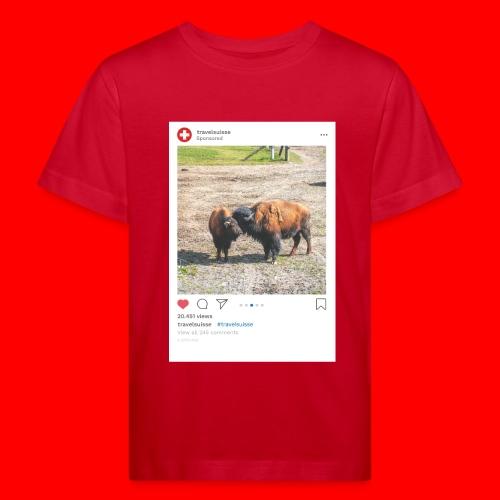 travelsuisse - Bueffel Vaduz - Kinder Bio-T-Shirt