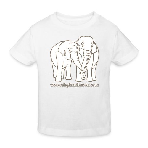 Elephants - Kids' Organic T-Shirt