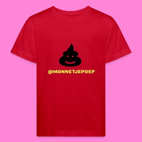 Mannetje Poep Shit - Kinderen Bio-T-shirt