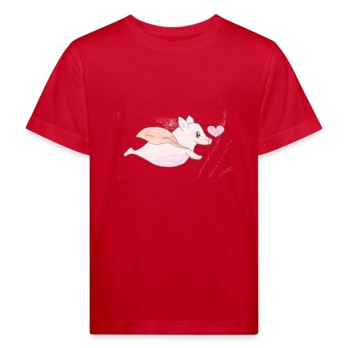 Kids for Kids: Flying Pigs - Kinder Bio-T-Shirt