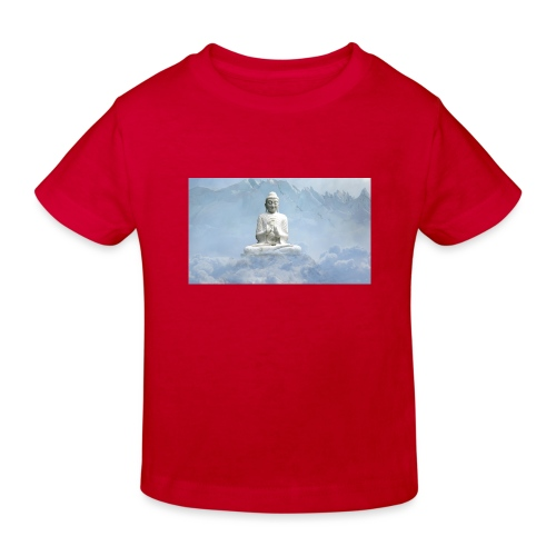 Buddha with the sky 3154857 - Kids' Organic T-Shirt