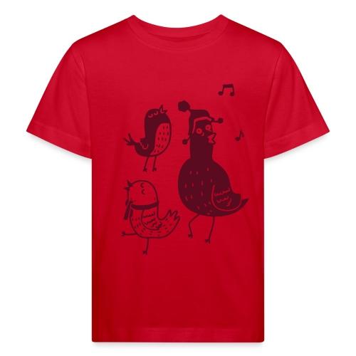 Vögelchen - Kinder Bio-T-Shirt