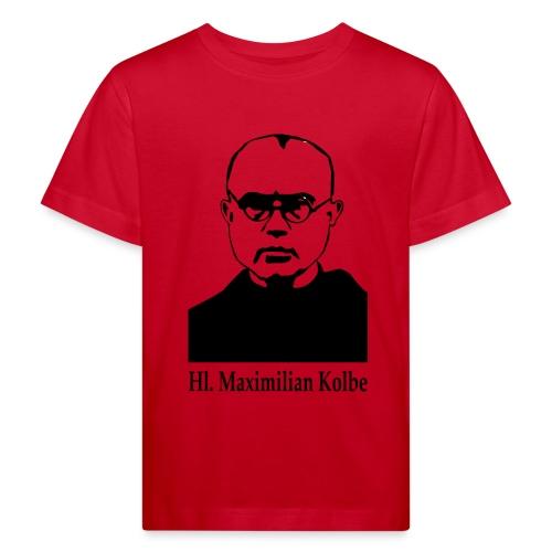 Hl. Maximilian Kolbe - Kinder Bio-T-Shirt