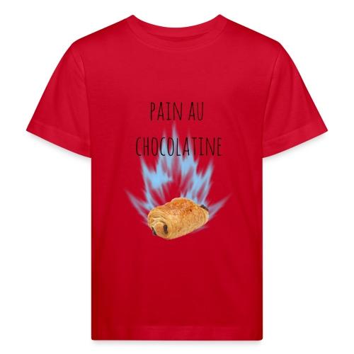pain au chocolatine - T-shirt bio Enfant