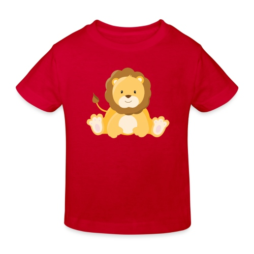 SAFARI Löwe - Kinder Bio-T-Shirt