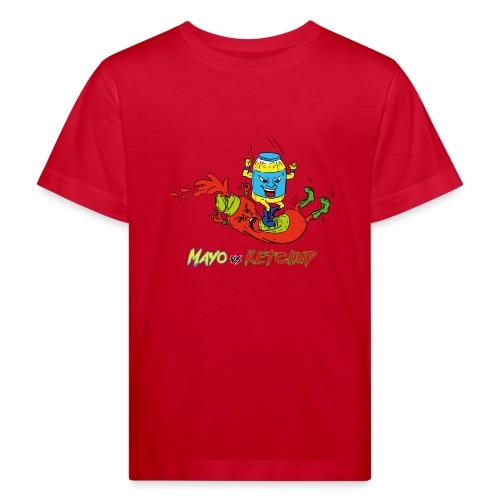 Mayo VS Ketchup - Maglietta ecologica per bambini