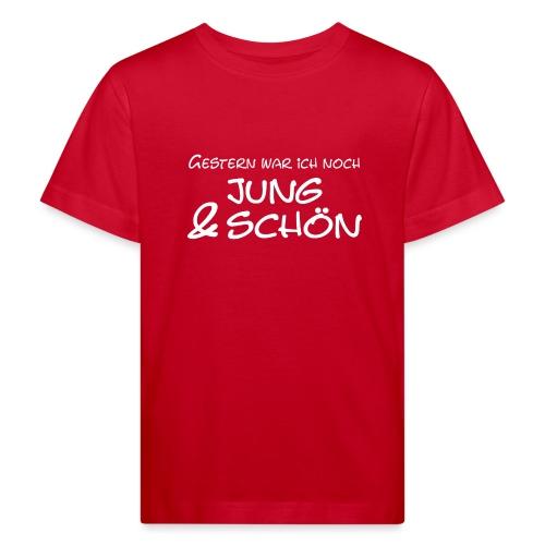 Jung und schön - Kinder Bio-T-Shirt