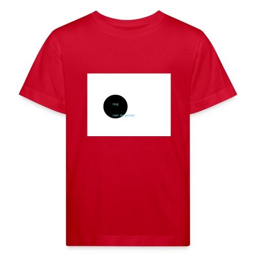 roel de gamer - Kinderen Bio-T-shirt