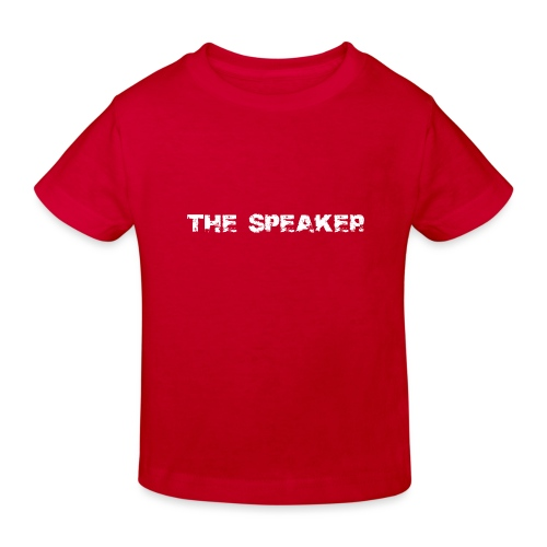 the speaker - der Sprecher - Kinder Bio-T-Shirt