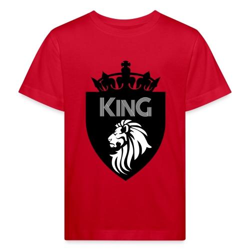 king - T-shirt bio Enfant