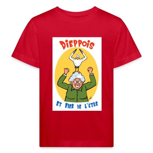 t shirt polete fier d'etre dieppois - T-shirt bio Enfant