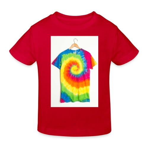 tie die small merch - Kids' Organic T-Shirt