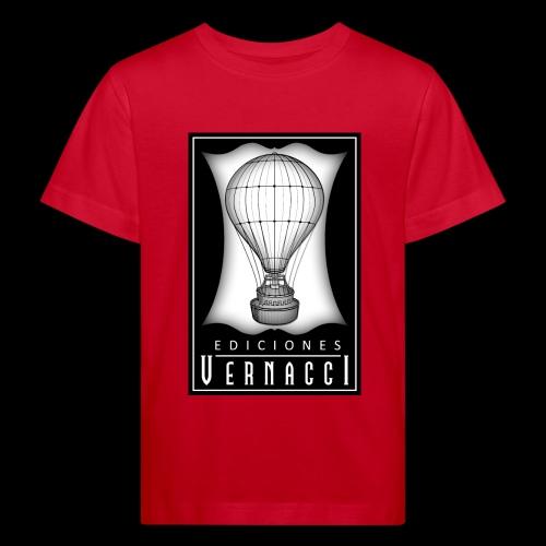 logotipo de ediciones Vernacci - Camiseta ecológica niño
