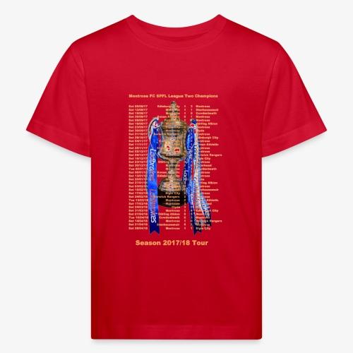 Montrose League Cup Tour - Kids' Organic T-Shirt