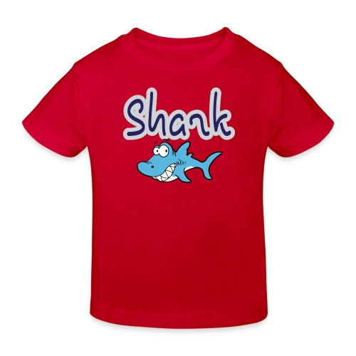 Kinderfreundlicher Hai - Kinder Bio-T-Shirt