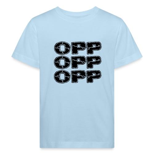 OPP Print - Lasten luonnonmukainen t-paita