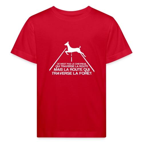 Chevreuil blanc - T-shirt bio Enfant