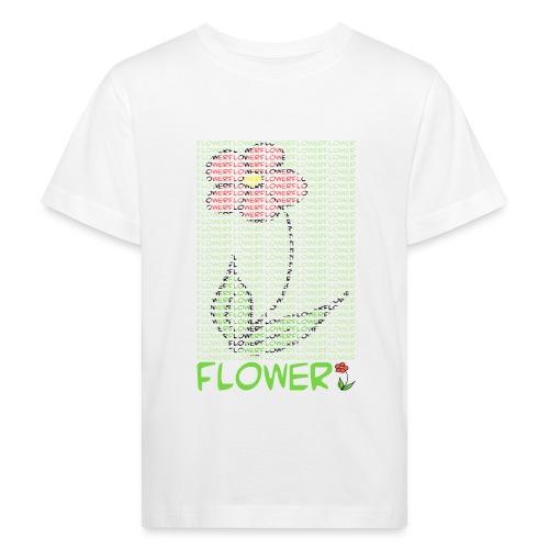 Flower - Kinder Bio-T-Shirt