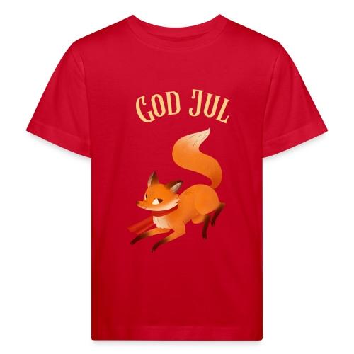 God jul - Økologisk T-skjorte for barn
