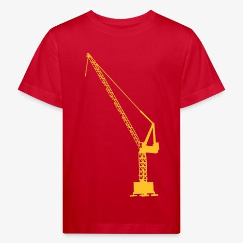 kraan - Kinderen Bio-T-shirt