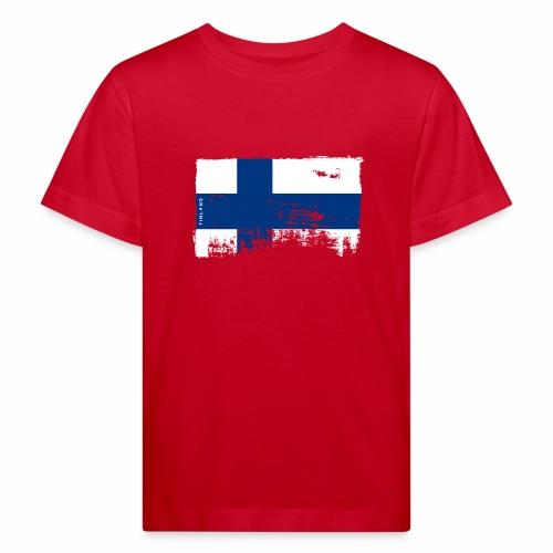 Suomen lippu, Finnish flag T-shirts 151 Products - Lasten luonnonmukainen t-paita