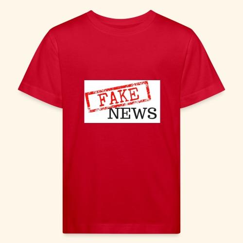 fake news - Kids' Organic T-Shirt