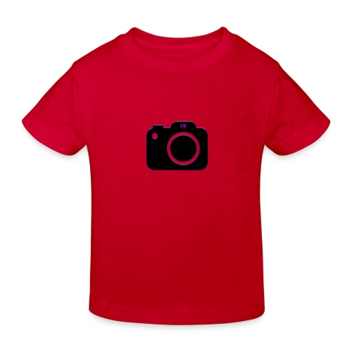 FM camera - Kids' Organic T-Shirt