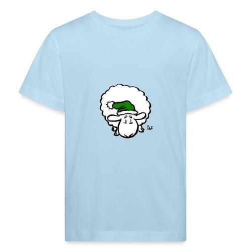 Santa Sheep (green) - Kinder Bio-T-Shirt