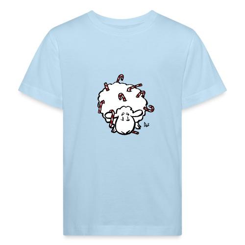 Candy Cane Sheep - Kinder Bio-T-Shirt