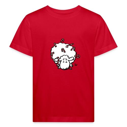 Zuckerstange-Schaf - Kinder Bio-T-Shirt