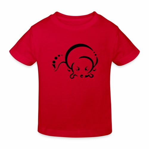 Otter, Tribal Design - Kids' Organic T-Shirt
