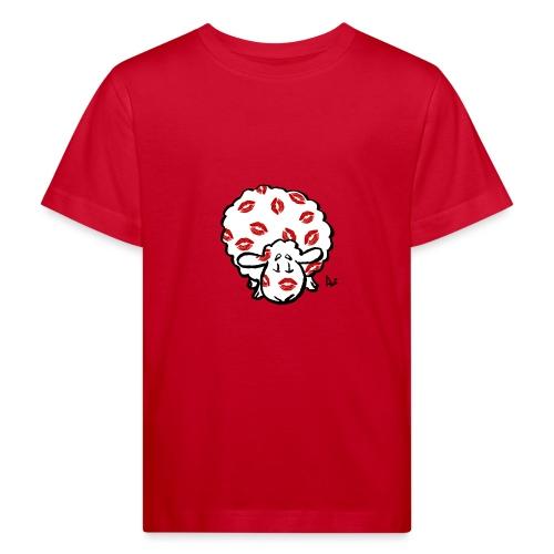 Kuss Mutterschaf - Kinder Bio-T-Shirt