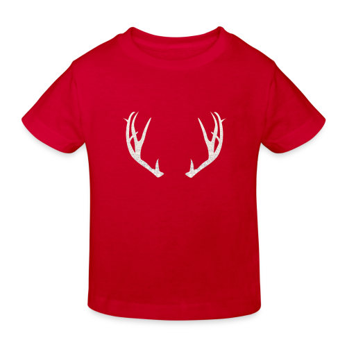 Jäiset poronsarvet - Lasten luonnonmukainen t-paita