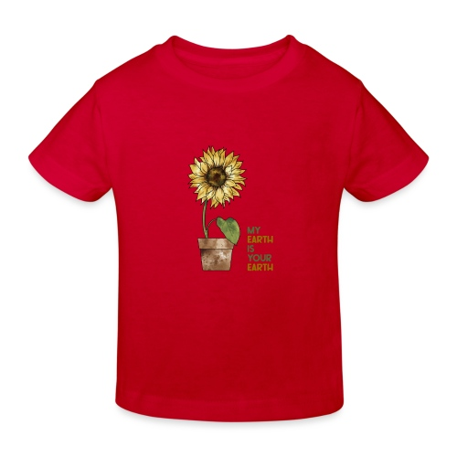 My earth is your earth - Kinder Bio-T-Shirt