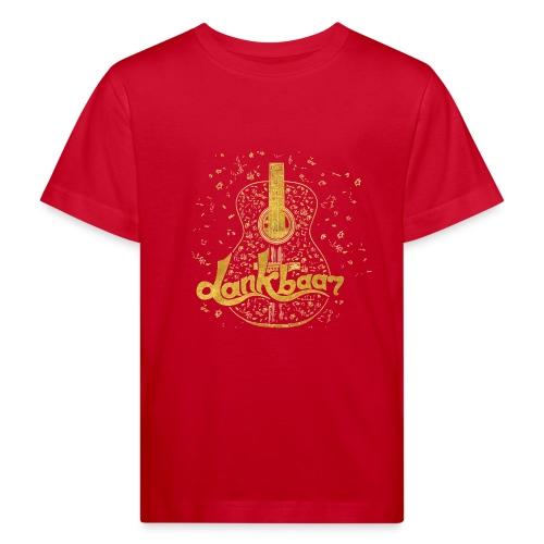 Dankbaar Gitaar Goud - Kinderen Bio-T-shirt