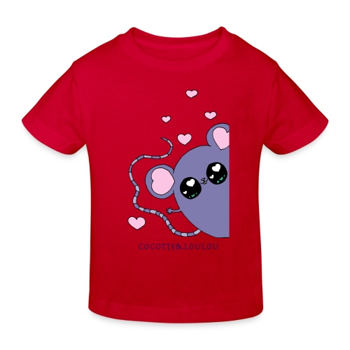 Minimi la souris - T-shirt bio Enfant