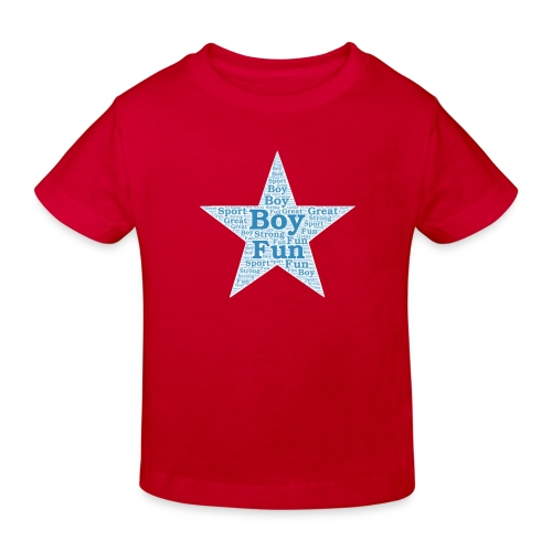 A star is born - Kinderen Bio-T-shirt