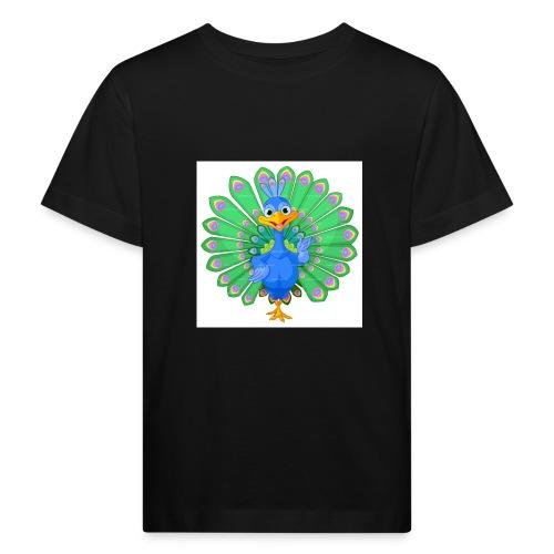 Pfau T-Shirts ,Blusen und mehr - Kinder Bio-T-Shirt