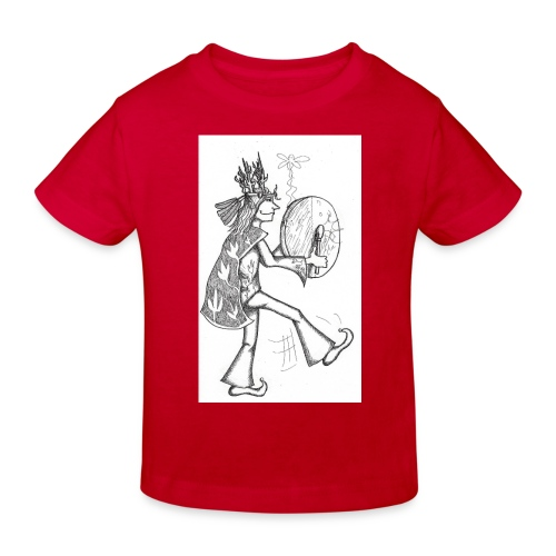 Schamane - Kinder Bio-T-Shirt