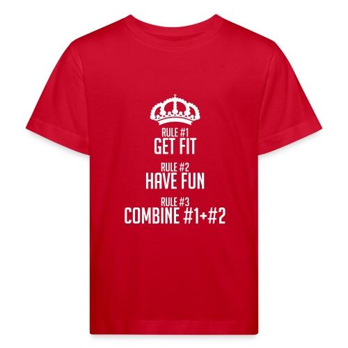 FITNESS RULES - Camiseta ecológica niño