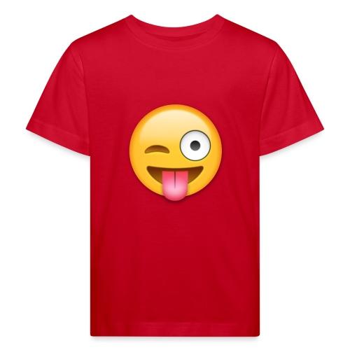 Winking Face - Kinder Bio-T-Shirt