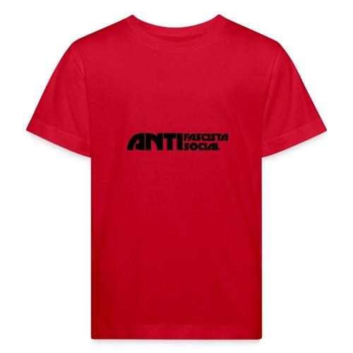 Antifaso_svart - Ekologisk T-shirt barn