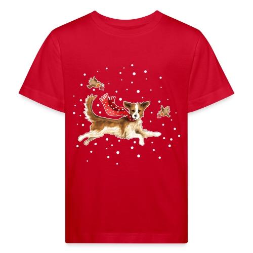 Suza met sneeuwvlokken - Kids' Organic T-Shirt
