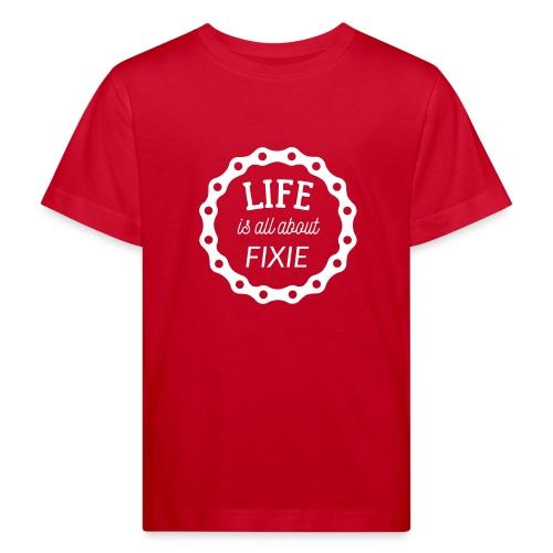 Fixie Bike - Kinder Bio-T-Shirt