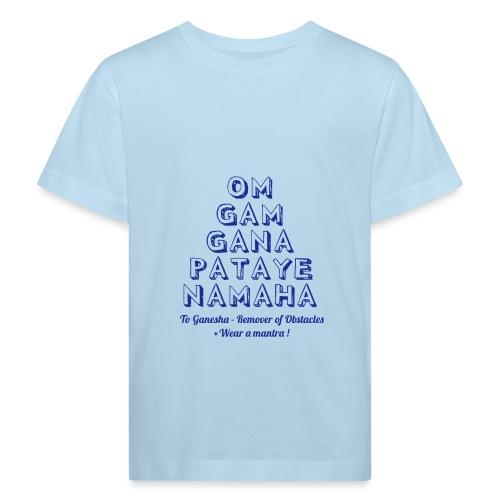 OM GAM GANAPATAYE - Maglietta ecologica per bambini